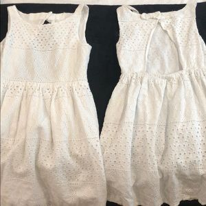 2 White dresses (separately or together)  $12 each